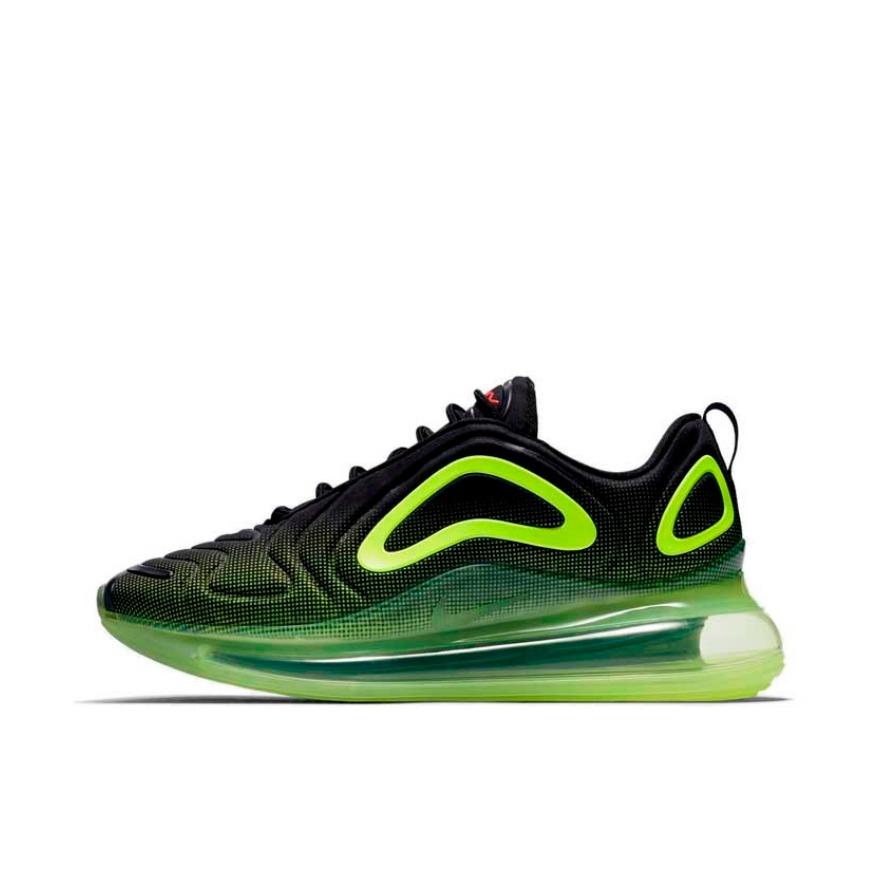 Nike Air Max 720 Black/Volt 黑绿 实付到手979