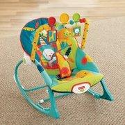 $24(原价$39.99)费雪多功能婴幼儿摇椅 从出生一直使用到40磅'