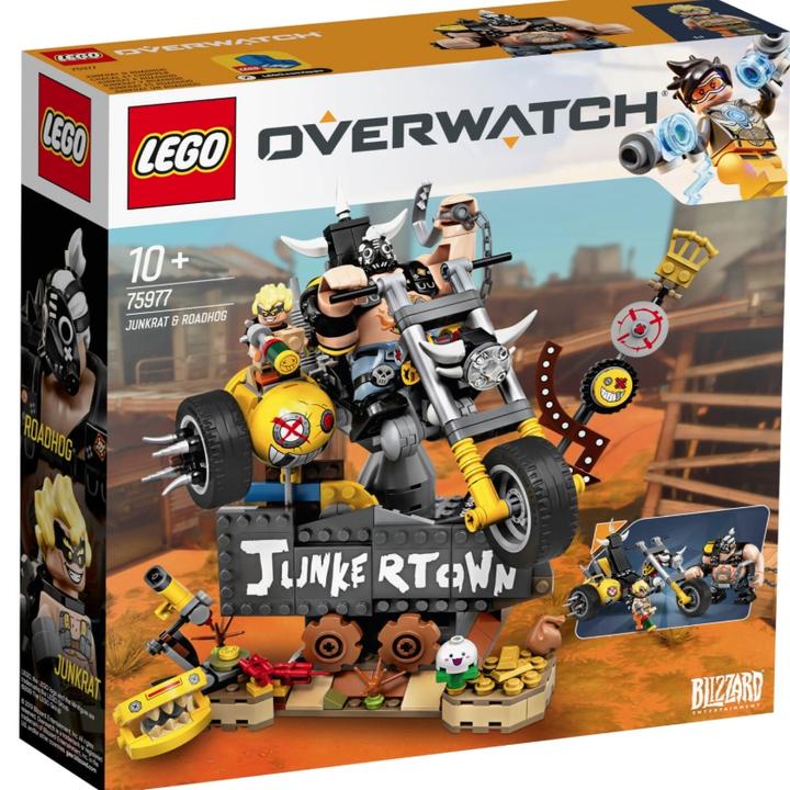 新品发售: LEGO 乐高 守望先锋系列 75977 狂鼠与路霸 £44.99直邮中国