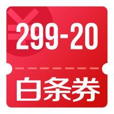 京东优惠券 109白条券礼包 16.9元