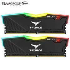 Team 十铨 DELTA RGB DDR4 3000 台式机内存 套装 8GB×2 599元