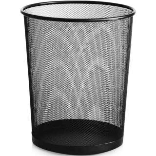 京东PLUS会员:Airline 尔蓝 AL-GB202 金属网垃圾桶 经典铁丝网 9L 9.9元