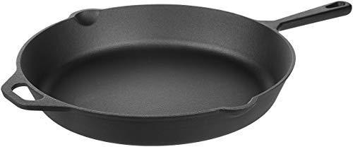 AmazonBasics铸铁锅 ,15吋款 $23.25(约160.31元)