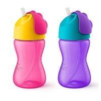 $5.59 两只装 Philips Avent 儿童防漏吸管杯2个装,多色可选