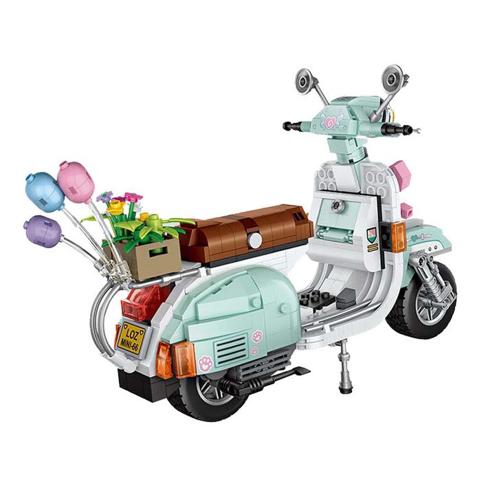 LOZ 小颗粒积木 小绵羊摩托车 48元包邮