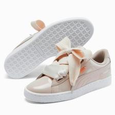 【额外8折】 Puma 彪马 Basket Heart Patent 蝴蝶结女士板鞋