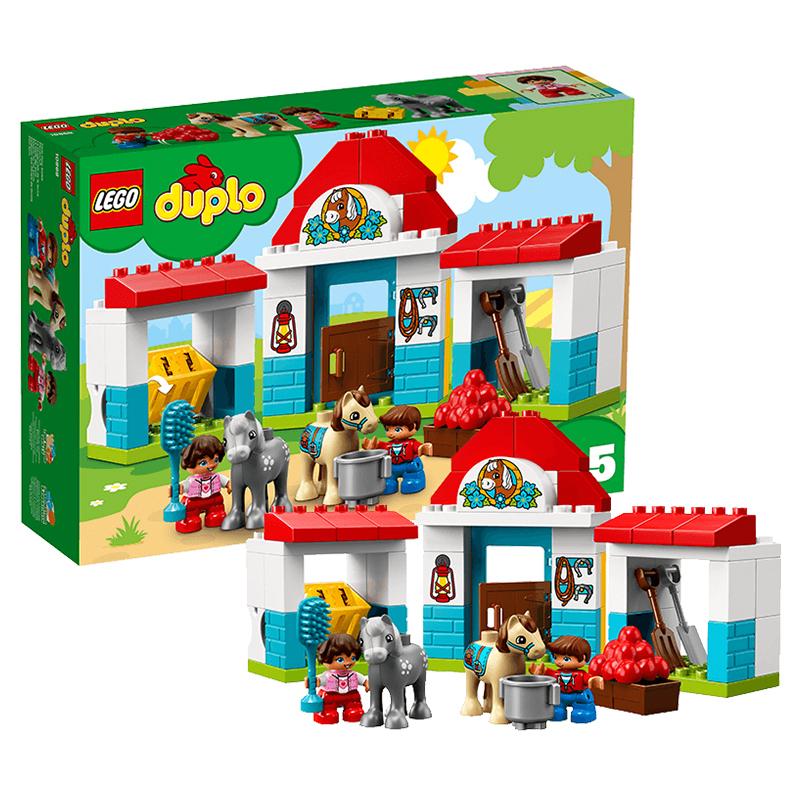 乐高得宝系列 10869 乐趣开心农场 LEGO DUPLO 积木玩具 489元