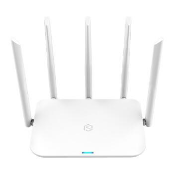 京东PLUS会员:中国移动 W1 全千兆 1200Mbps 双频无线路由器 79元 ¥79