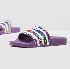 限时7.5折 满减$20!【新客限时返利3%】adidas 阿迪达斯 adilette 女子澡堂拖夏季拖鞋