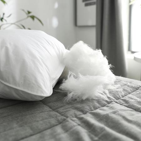 Bejirog 北极绒 羽丝绒护颈枕头 单只装 9.9元 ¥10