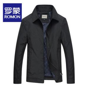 出口量国内第一 Romon/罗蒙 男士修身立领 商务休闲夹克 99元包邮