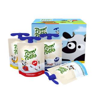 法优乐(Pompotes) 法国原装进口 儿童营养常温酸奶 飞机头 小酸奶 4口味混合装85g*8袋 *2件 104.86元(合52.43元/件)