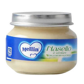 意大利进口 美林 Mellin 鳕鱼泥 80g*2瓶/盒 鱼泥 6个月宝宝适用 *8件+凑单品 142.07元(合17.76元/件)