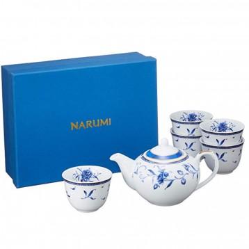 秒杀好价!Narumi 鸣海 佩琳蓝色茶具 ¥183.92