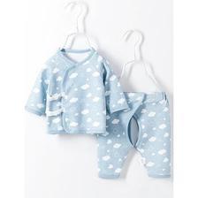 Miiow 猫人 婴儿和尚服套装 2件套 *4件 79.64元包邮