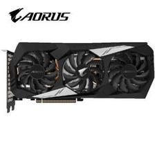技嘉(GIGABYTE)AORUS GeForce GTX 1660Ti 6G 12000MHz 192bit GDDR6 6G 电竞游戏显卡 2099元