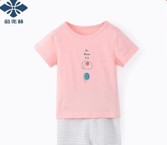 YUZHAOLIN 俞兆林 儿童短袖套装 *3件 59.01元(合19.67元/件)