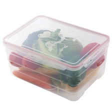 晟乐居 冷藏冰箱保鲜盒 21*29*13.5cm 6500ml 16.9元包邮(需用券) ¥17