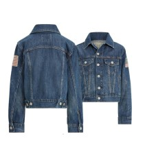 【双11】Ralph Lauren 拉夫劳伦 Denim Jacket DIY牛仔外套