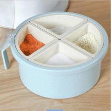 莱朗 圆形4格调味盒 赠调味勺 14.9元
