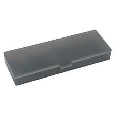 国誉(KOKUYO) 可调式PP文具盒 200*65*26mm 烟灰/透明  券后7.9元