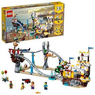 LEGO乐高 Creator创意百变系列31084 三合一海盗过山车 .99(约399.45元)