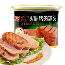 双汇 香肠 金品火腿猪肉罐头340g 速食罐头香肠 *2件 35.64元(合17.82元/件)