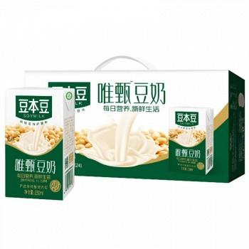 京东商城 SOYMILK 豆本豆 唯甄豆奶 植物蛋白营养饮品 250ml*24盒 *3件 82.56元(合1.14元/盒,可凑单包邮)