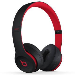 Beats Solo3 Wireless 头戴式 蓝牙无线耳机 桀骜黑红 MRQC2PA/A 1043.1元
