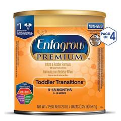 2件9.5折!【中亚Prime会员】Enfagrow 美赞臣 2段婴幼儿配方奶粉 567g*4罐