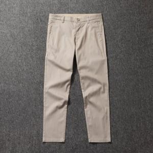 棉亚麻混纺 男薄款休闲裤 YKK拉链 36元包邮 剪标款