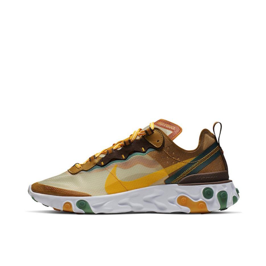 【最后冲刺】Nike React Element 87 淡象牙色/橙 实付到手689元