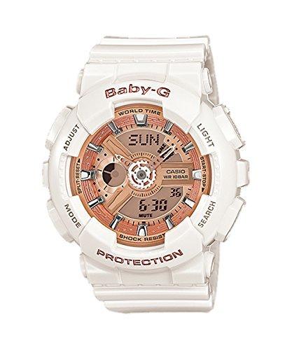 ¥558.37 CASIO 卡西欧 BABY-G BA-11 0-7A1ER双显运动腕表