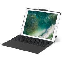 秒杀¥596,带智能连接器 Logitech ipad pro 12.9英寸可拆卸背光超薄键盘