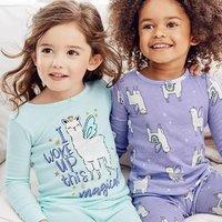 包邮 全棉连体衣$7 Carter's官网 全站儿童睡衣5折+满额7.5折