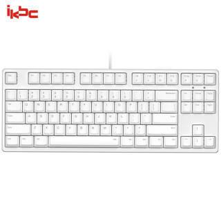 ikbc C87 机械键盘 有线键盘 游戏键盘 87键 原厂cherry轴 樱桃轴 白色 红轴 *2件 496元(合248元/件)