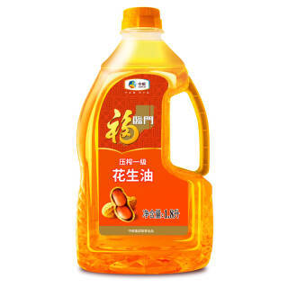 福临门 食用油 压榨一级花生油1.8L 中粮出品 79.71元(合26.57元/件)