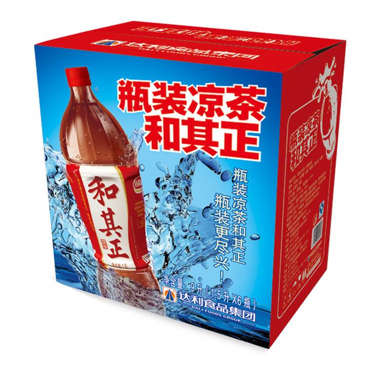 限地区: 达利园 和其正 凉茶 1.5L*6瓶 17.9元
