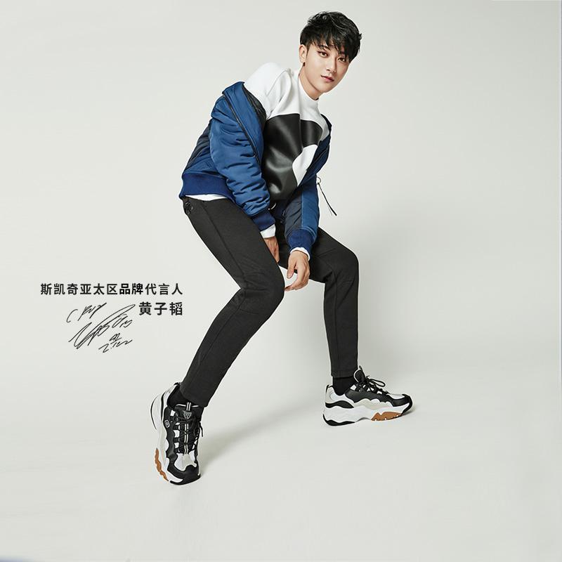 广而告之:Skechers 斯凯奇老爹鞋、熊猫鞋上新 收新款串标老爹鞋