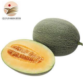 哈密瓜 新鲜水果网纹瓜 单果1.5kg以上 阎良蜜瓜 西州蜜瓜 2粒装共约3.5kg 29.9元