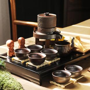 领艺 半自动石磨盘功夫茶具九件套 券后¥29.8