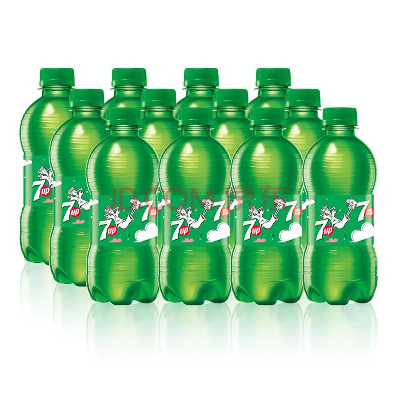 ¥10.45 7喜 七喜 7up 柠檬味 汽水碳酸饮料 330ml*12瓶 百事可乐出品 新老包装随机发货