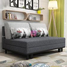 ¥1199 TIMI 现代沙发 沙发床 布艺沙发 可折叠沙发 多功能沙发 客厅沙发(深灰