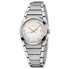 折合433.65元 Calvin Klein 卡尔文·克莱因 Step 系列 银色女士时装腕表