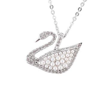 双11预售: SWAROVSKI 施华洛世奇 5411791 珍珠天鹅项链 大号 329元(需50元定金)