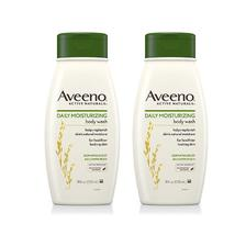 ¥49.5 Aveeno 天然燕麦 成人日常保湿沐浴露 532ml*2瓶 *2件