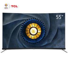 TCL 55Q7 55英寸 曲面液晶电视 3899元