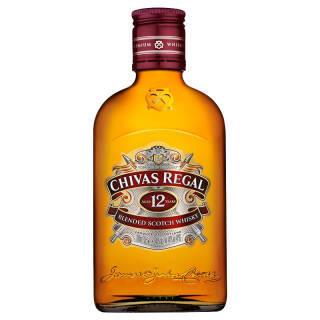 芝华士(Chivas)洋酒 12年苏格兰威士忌 700ml 200ml 单瓶 普通 69元