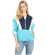 折合95.48元 Juicy Couture蓝白拼色棒球外套
