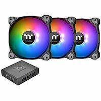 $64.36 支持Alexa, Razer ChromaThermaltake Pure Plus 14 140mm RGB风扇 (3个, 带控制盒)